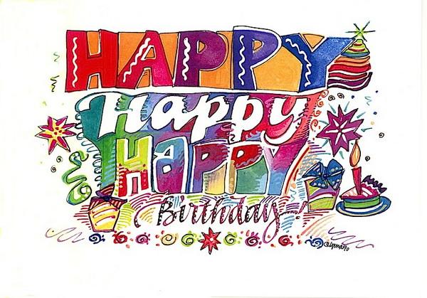 Поздравления с днем рождения американцу на английском
